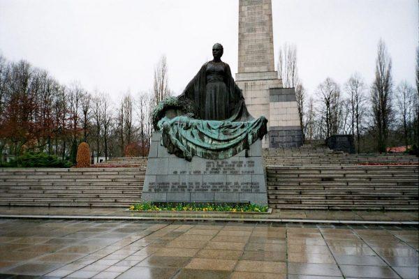 memorial soviético Berlín