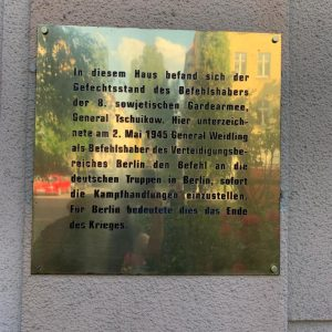 rendicion berlin
